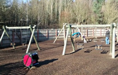 Adventure Playground at Conkers