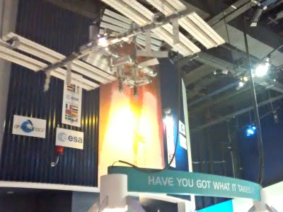 An exhibition at the National Space Centre.