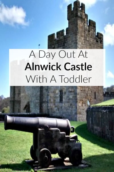 A day out at Alnwick Castle with a toddler