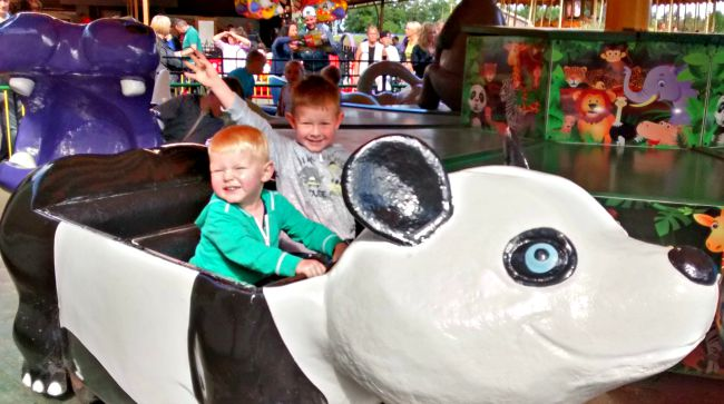The Noah's Ark Ride at Lightwater Valley