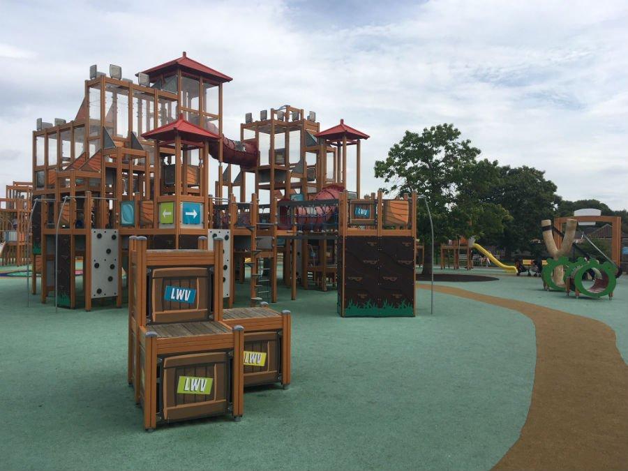 lightwater valley new playground