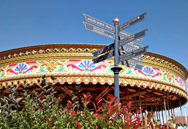 The rides at Lightwater Valley