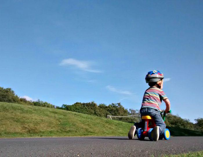daniel on bike