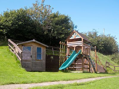 Climbing Frame at Robin Hill Farm Cottages