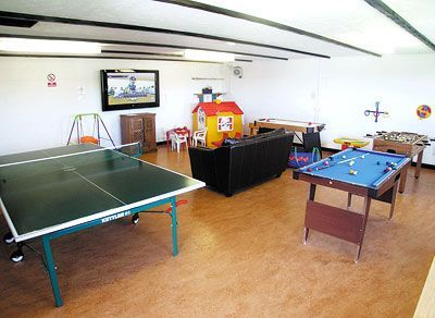 The Games Room at Robin Hill Farm Cottages
