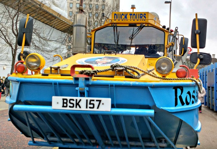 Rosalind from the London Duck Tour