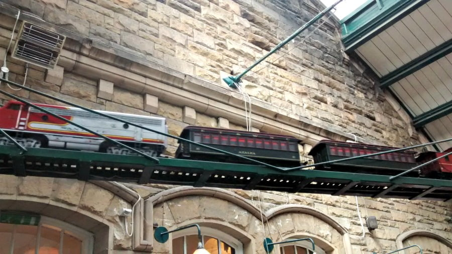Train at Barter Books