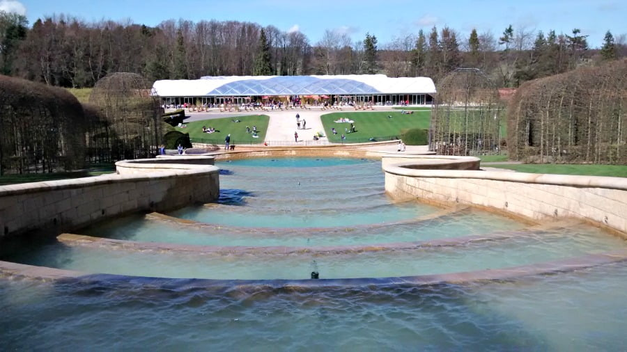 The cascade at Alnwick Gardens