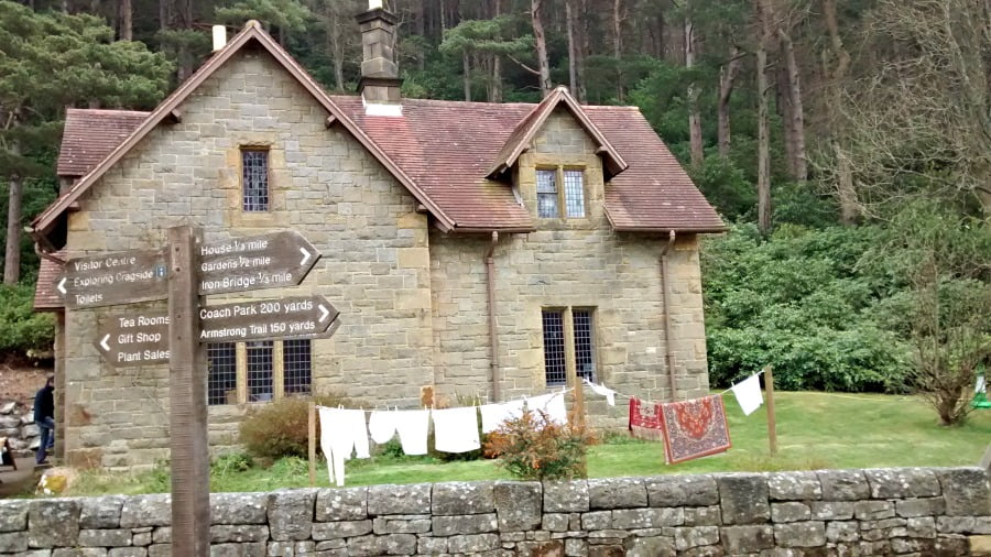 Activity centre at Cragside