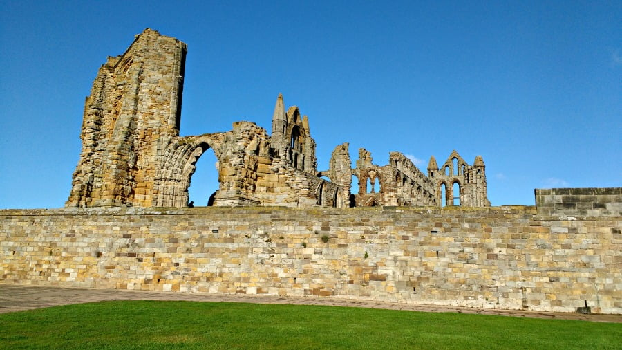 Whitby Abbey - next to the YHA Whitby