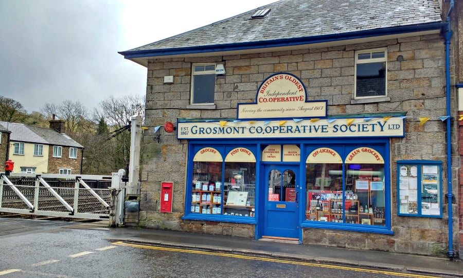 The Coop at Grosmont  -  Britain's oldest independent Coop