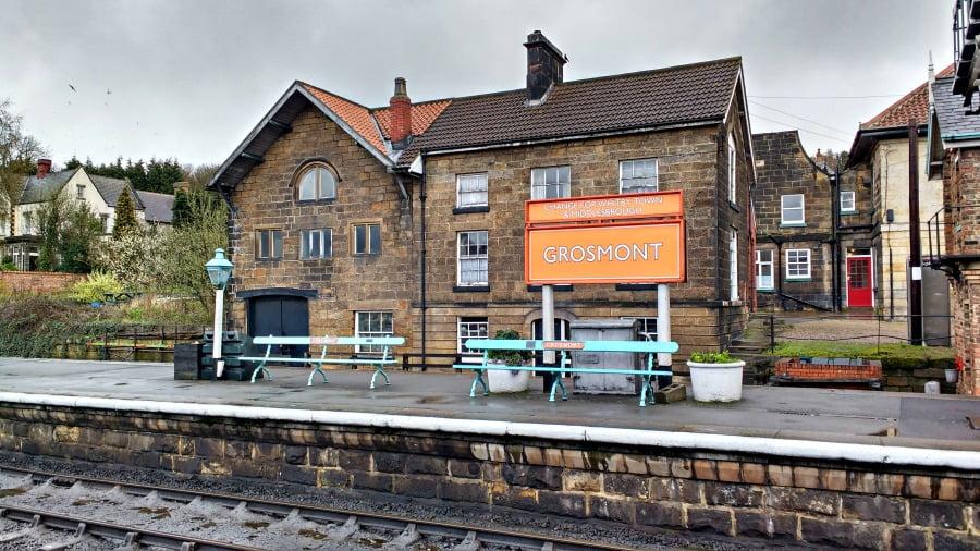 Grosmont Station on the North York Moors Railway