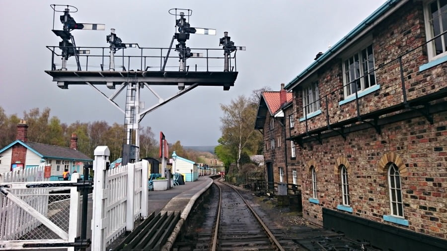 There is plenty to see on the North York Moors Railway