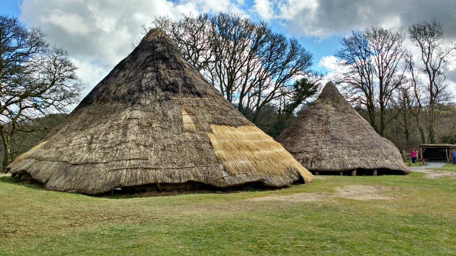 The Iron Age Village at Castell Henllys in Pembrokeshire
