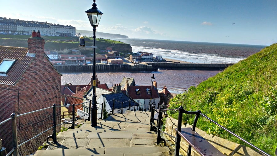 The 199 Steps to Whitby