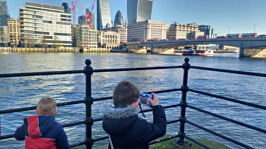 Taking photos on a toddler friendly weekend in london