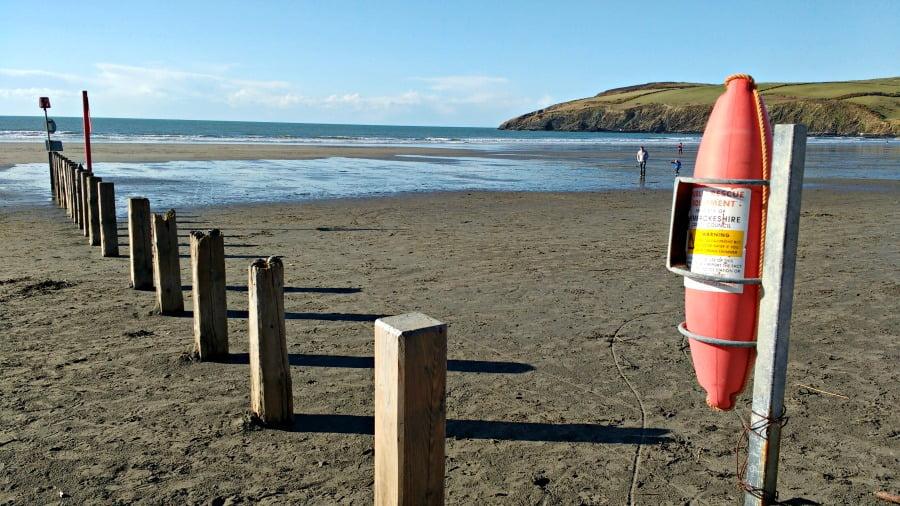 Newport Sands Beach in Pembrokeshire