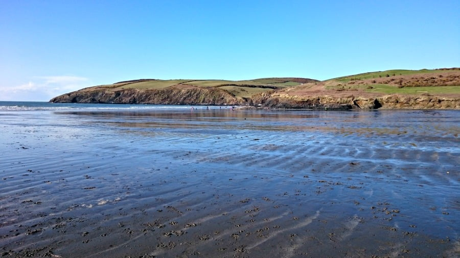 Pembrokeshire with babies and toddler