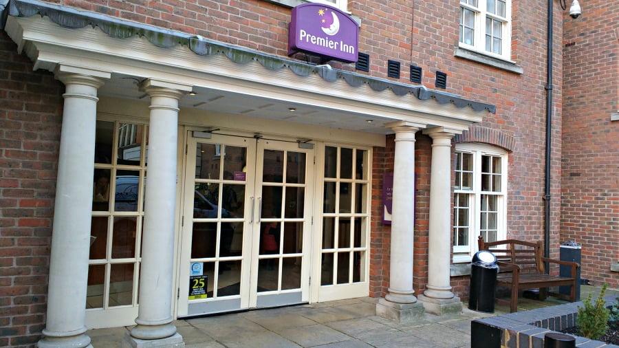 The Premier Inn at Southwark