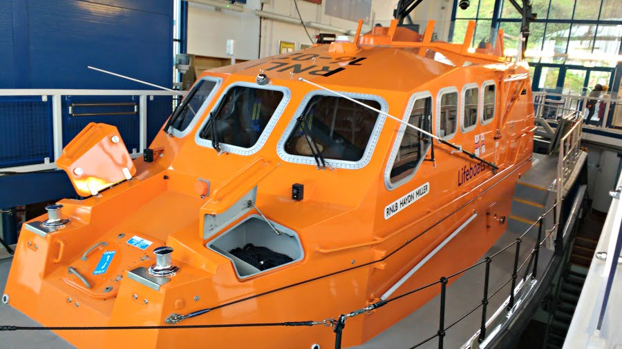 The Tenby Lifeboat