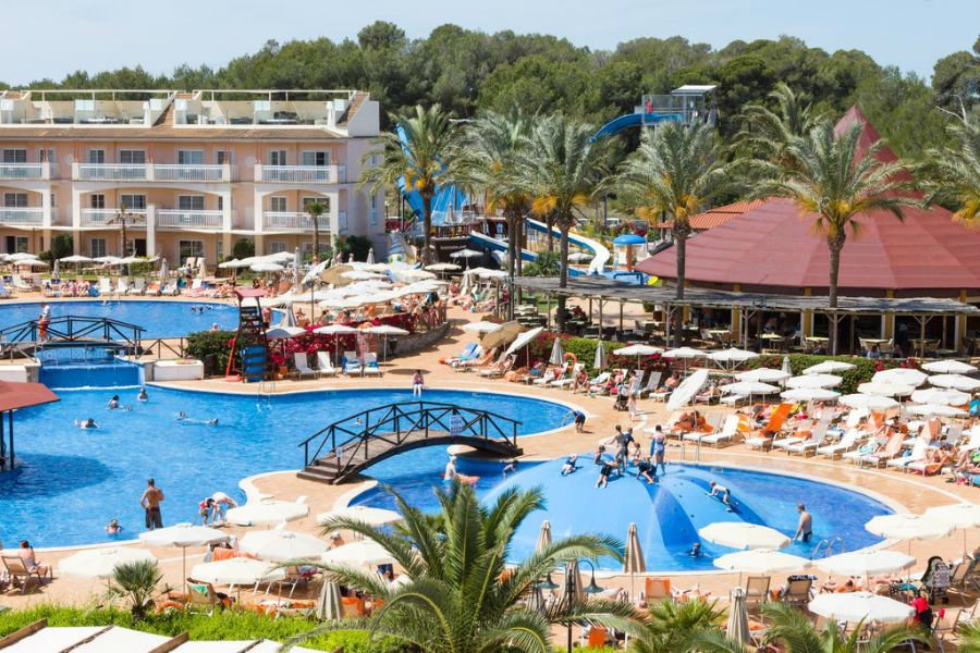 Zafiro Hotel Can Picafort - baby and toddler friendly hotel in Majorca