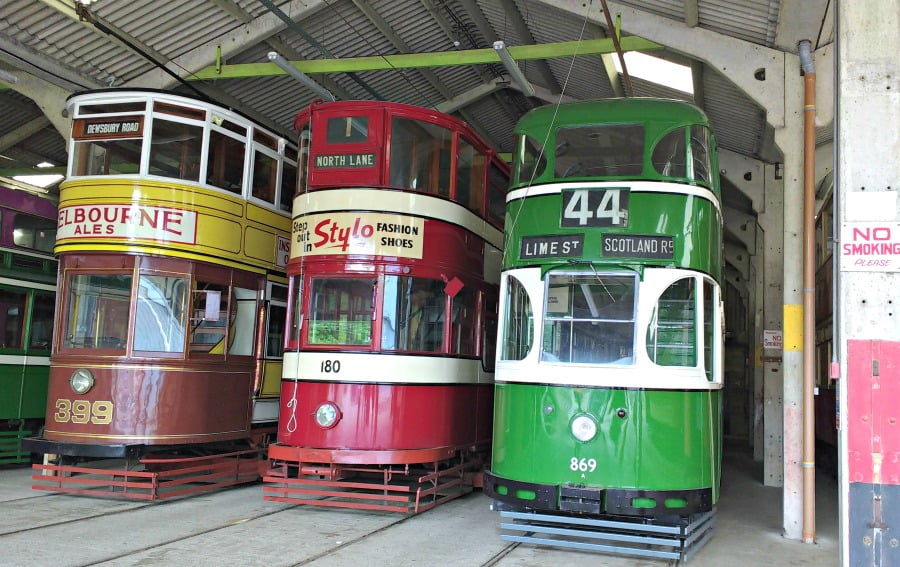 The Tram Shed at Crich Tramway Village