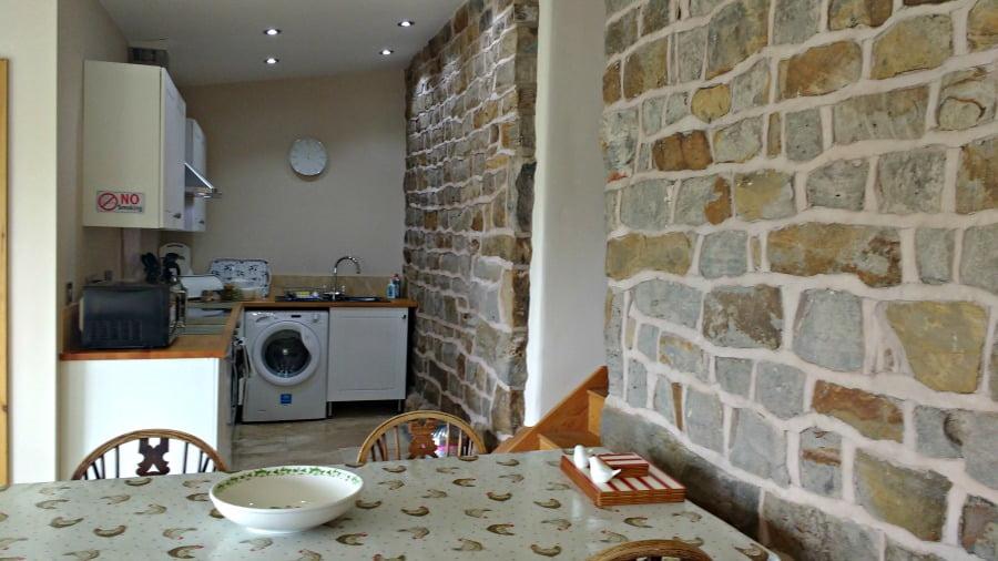 The kitchen at Upper Greenhills Farm