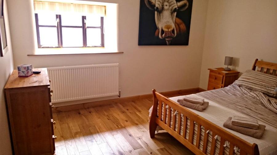 Bedroom at Upper Greenhills Farm