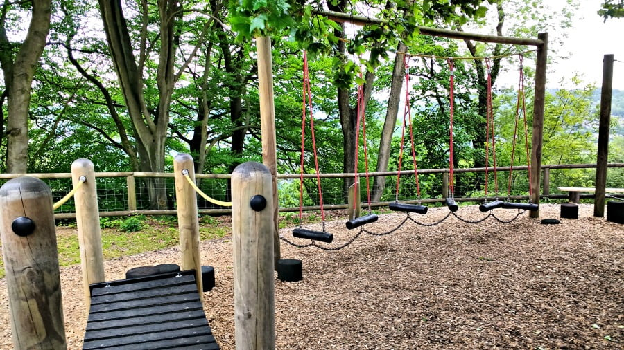 Another playground at the Heights of Abraham