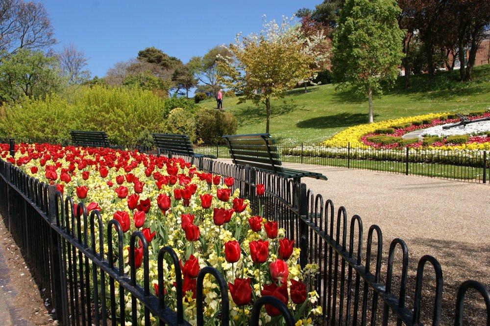 Pannett Park in Whitby