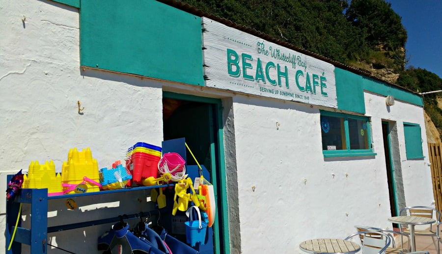 Whitecliff Bay Beach Cafe