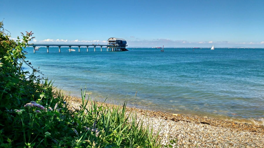 Bembridge Pier on the Isle of Wight