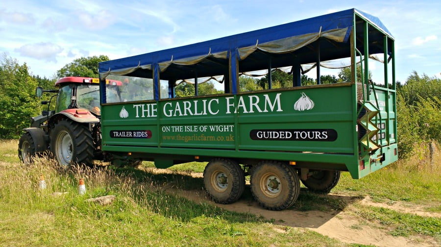 The Garlic Farm on the Isle of Wight
