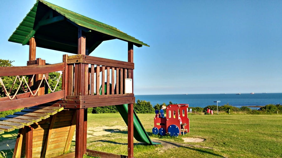 A Playground with at Whitecliff Bay: A baby and toddler friendly holiday park in the Isle of Wight