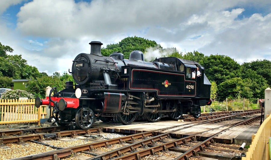 The Isle of Wight Steam train - toddler friendly day out in the Isle of Wight
