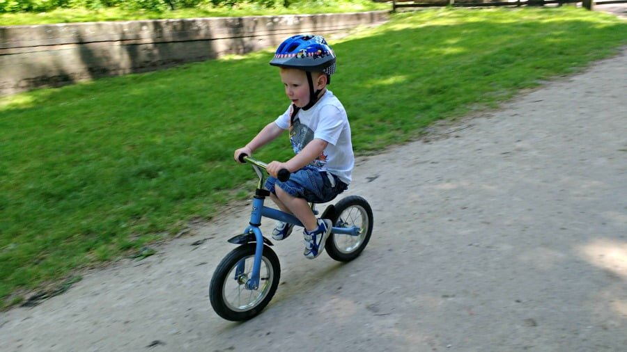 A Toddler Friendly Cycle Route