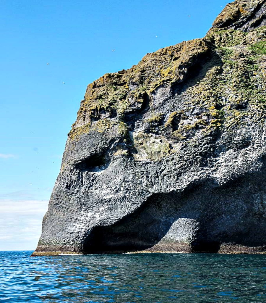 An elephant rock