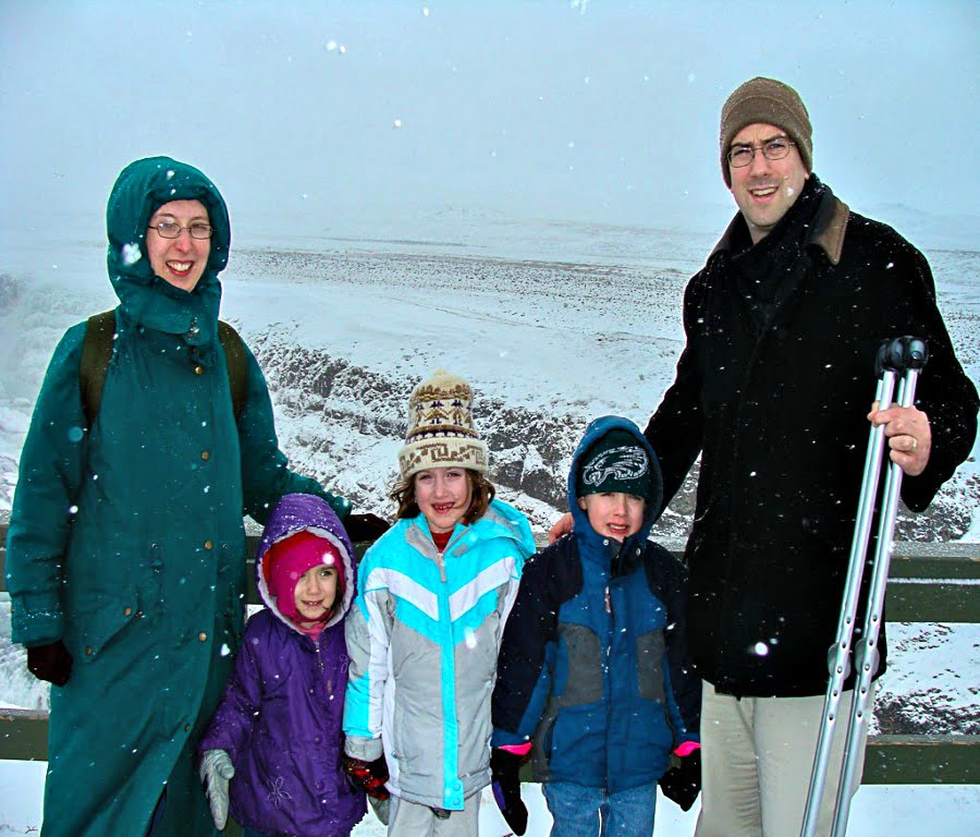 Eric from Iceland With kids
