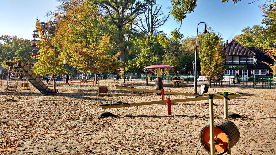 The playground at Duinrell