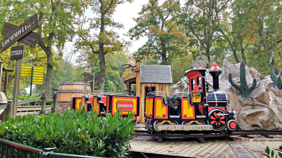 The locomotion ride at Duinrell