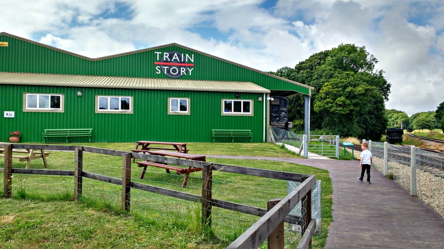 The Train Story at the Isle of Wight Steam Railway