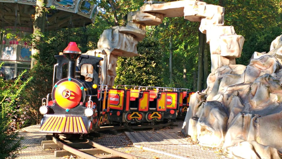 The train ride at Duinrell