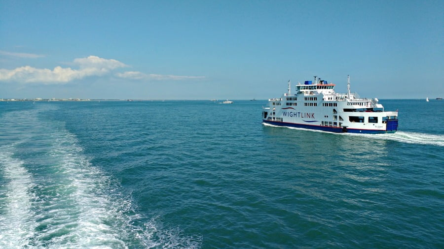 Wightlink Ferry - The Isle of Wight With a toddler