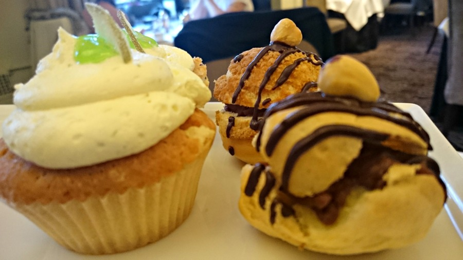 Cupcakes at the Afternoon Tea at the Grand Hotel