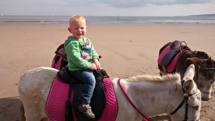 Donkey Rides on Filey Beach