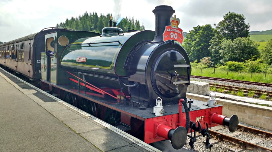 Embsay and Bolton Abbey Steam Train