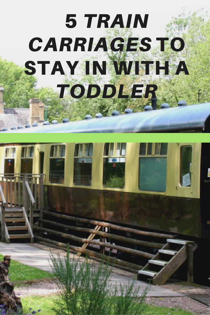 Train Carriages to stay in with a toddler