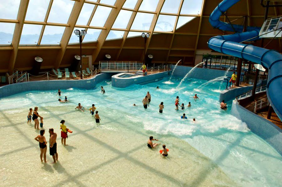 The Bluestone waterpark
