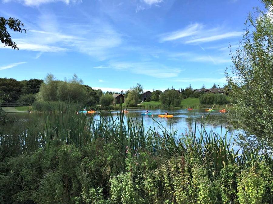 The Bluestone Lake