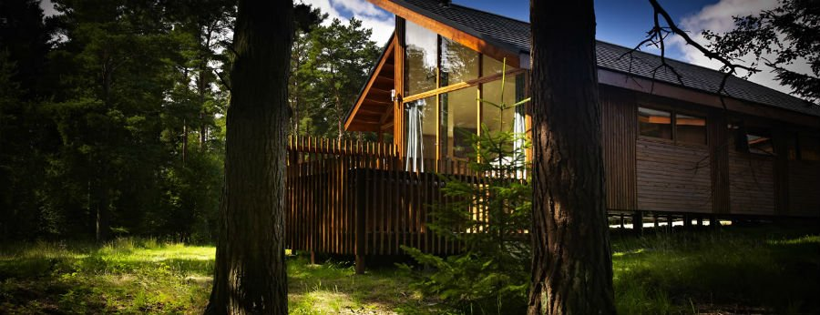 Baby and toddler friendly log cabins in yorkshire